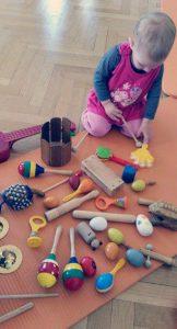 Musikgarten: musikalische Früherziehung für Babys 0,5-2 Jahre